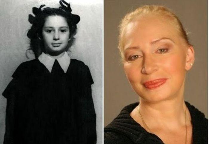 sovietactresses15 Легендарные советские актрисы в детстве и в возрасте
