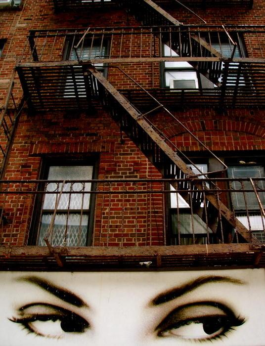13. Глаза. Гарлем, 2007.
