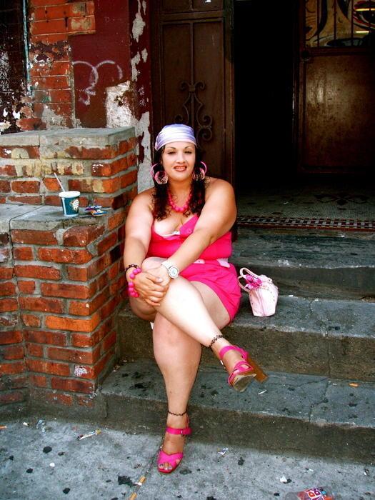 15. Розовая пантера из Гарлема. Гарлем, 2007.