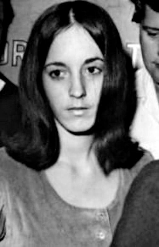 3. Сьюзан Аткинс в 60-е.