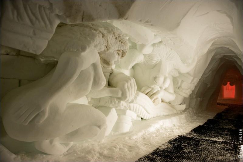 Альпы «кроме лыж»: Пещеры снежного грота