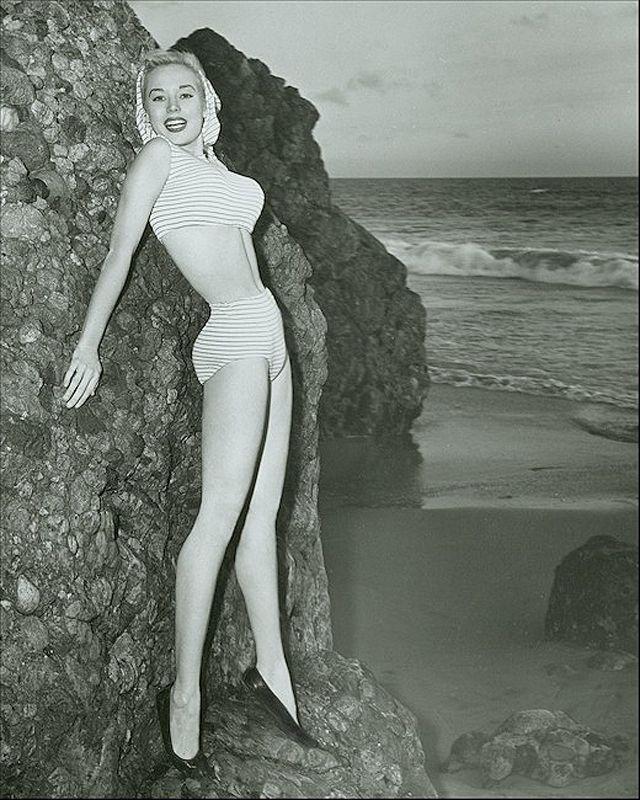BettyBrosmer12 Бетти Бросмер — обладательница самой шикарной фигуры 50 х годов