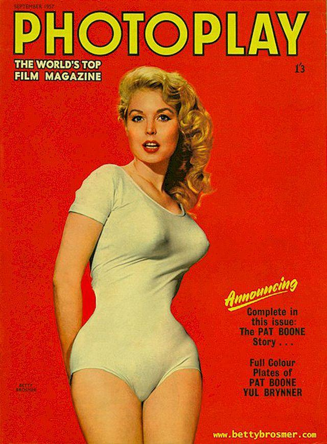 BettyBrosmer15 Бетти Бросмер — обладательница самой шикарной фигуры 50 х годов