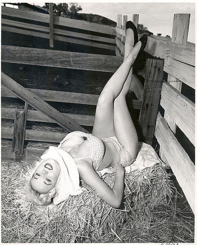 BettyBrosmer31 Бетти Бросмер — обладательница самой шикарной фигуры 50 х годов