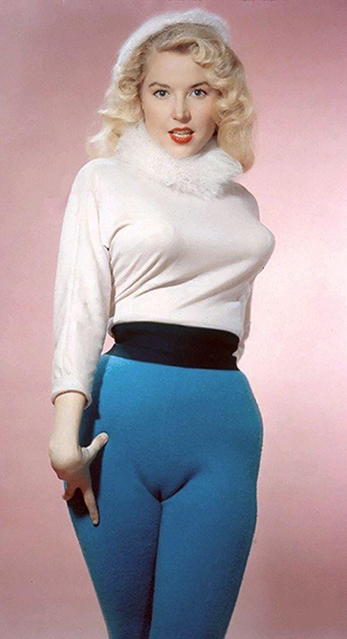BettyBrosmer40 Бетти Бросмер — обладательница самой шикарной фигуры 50 х годов