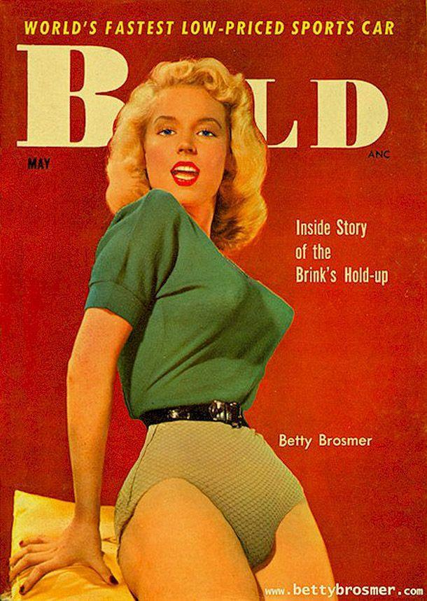 BettyBrosmer44 Бетти Бросмер — обладательница самой шикарной фигуры 50 х годов
