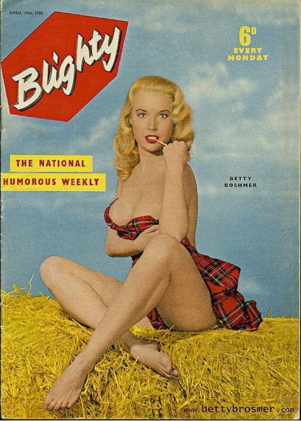 BettyBrosmer45 Бетти Бросмер — обладательница самой шикарной фигуры 50 х годов