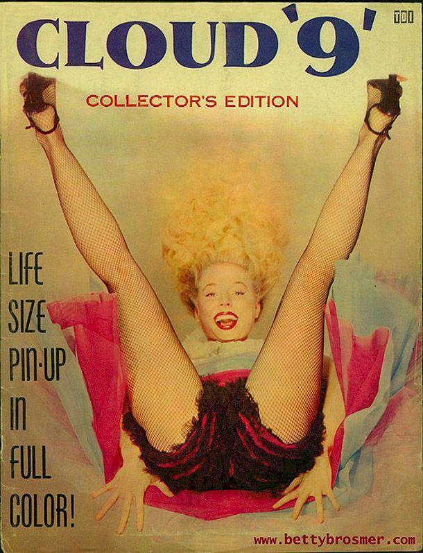 BettyBrosmer49 Бетти Бросмер — обладательница самой шикарной фигуры 50 х годов
