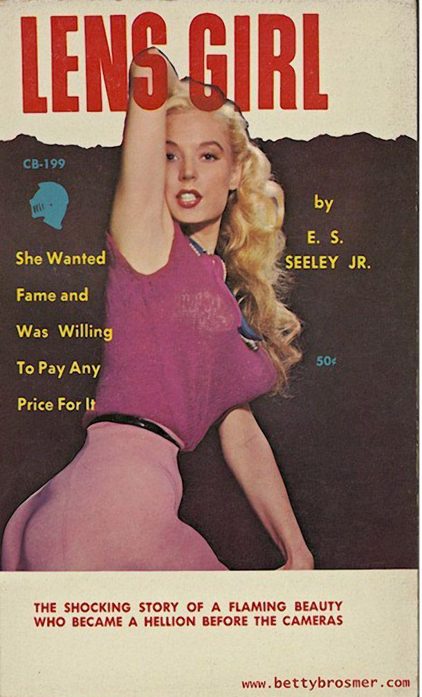 BettyBrosmer50 Бетти Бросмер — обладательница самой шикарной фигуры 50 х годов