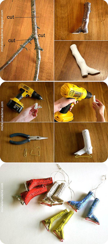 DIYDecor15 Новогодние украшения своими руками