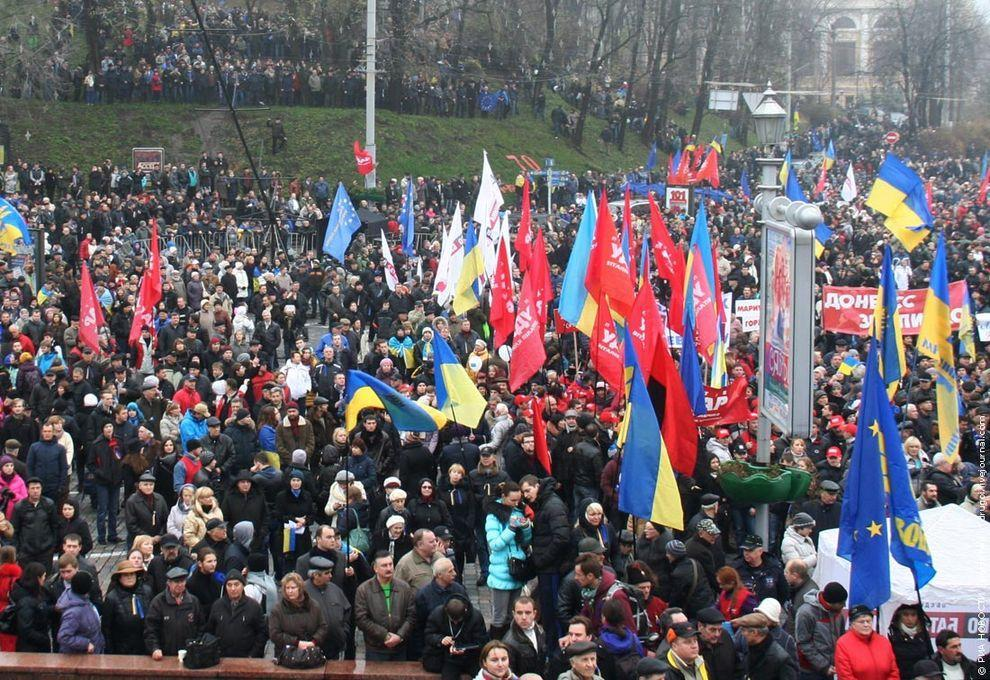 Euromaidan01 Майдан в Киеве