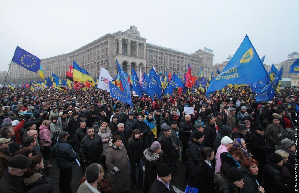 Euromaidan05 Майдан в Киеве
