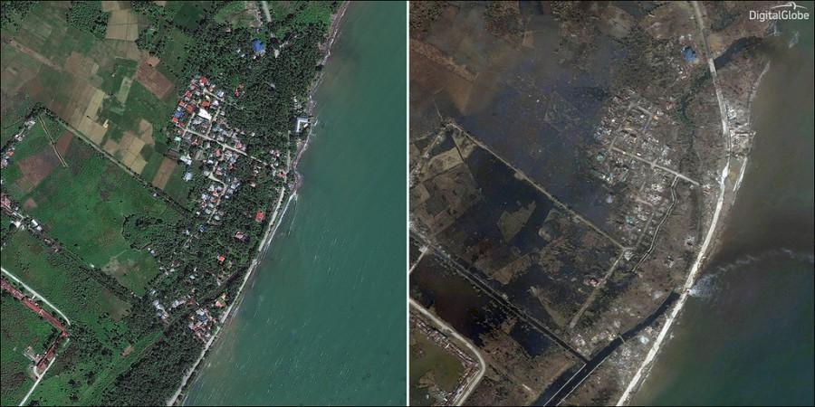 Haiyang01 Тайфун Хайян: до и после