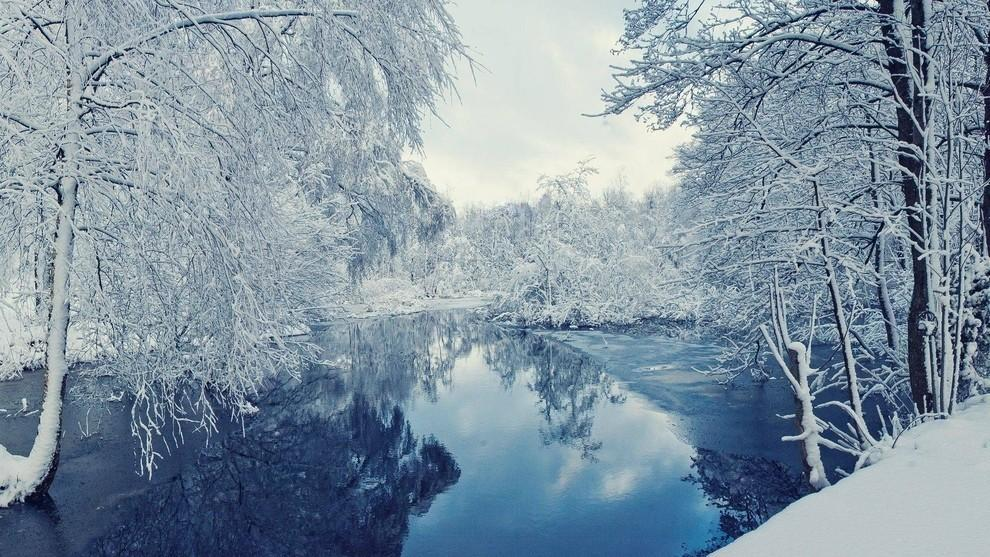 Места которые еще красивее зимой