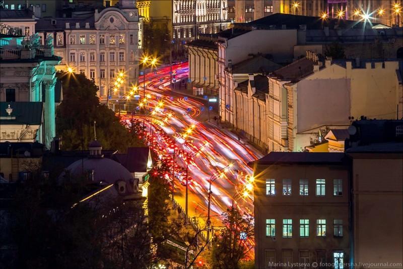 MskCCSroof01 800x533 Вечерняя Москва сверху с ХХС
