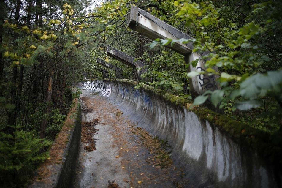 Заброшенные места Олимпийской славы в Сараево