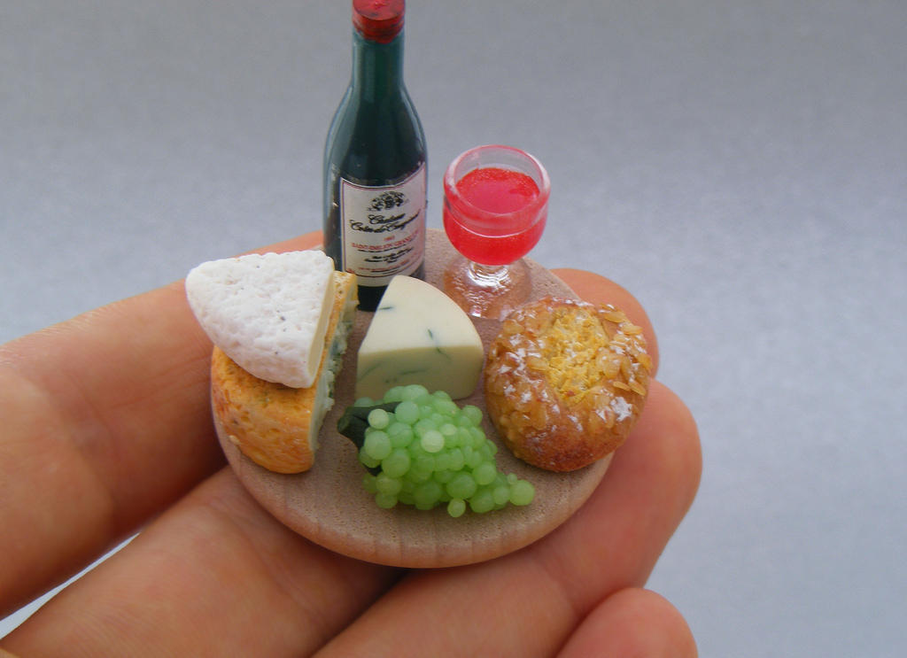 Аппетитные миниатюры от израильского мастера