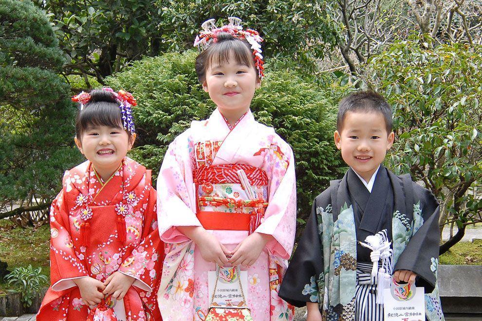 Shichi Go San 01 Самые обаятельные малыши на празднике детей в Японии