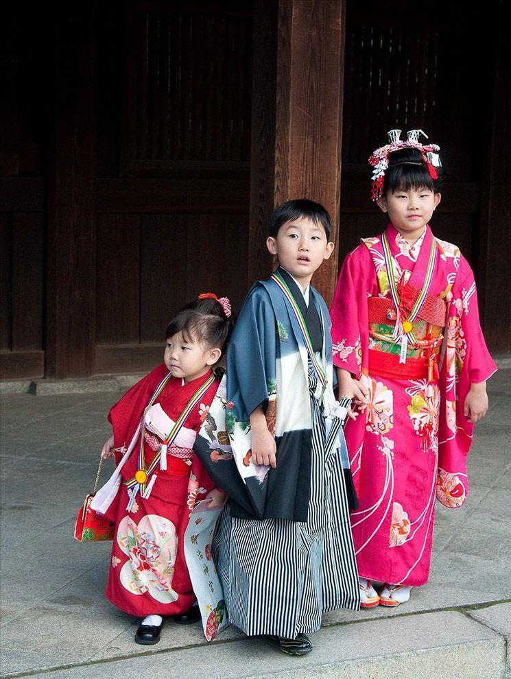 Shichi Go San 02 Самые обаятельные малыши на празднике детей в Японии