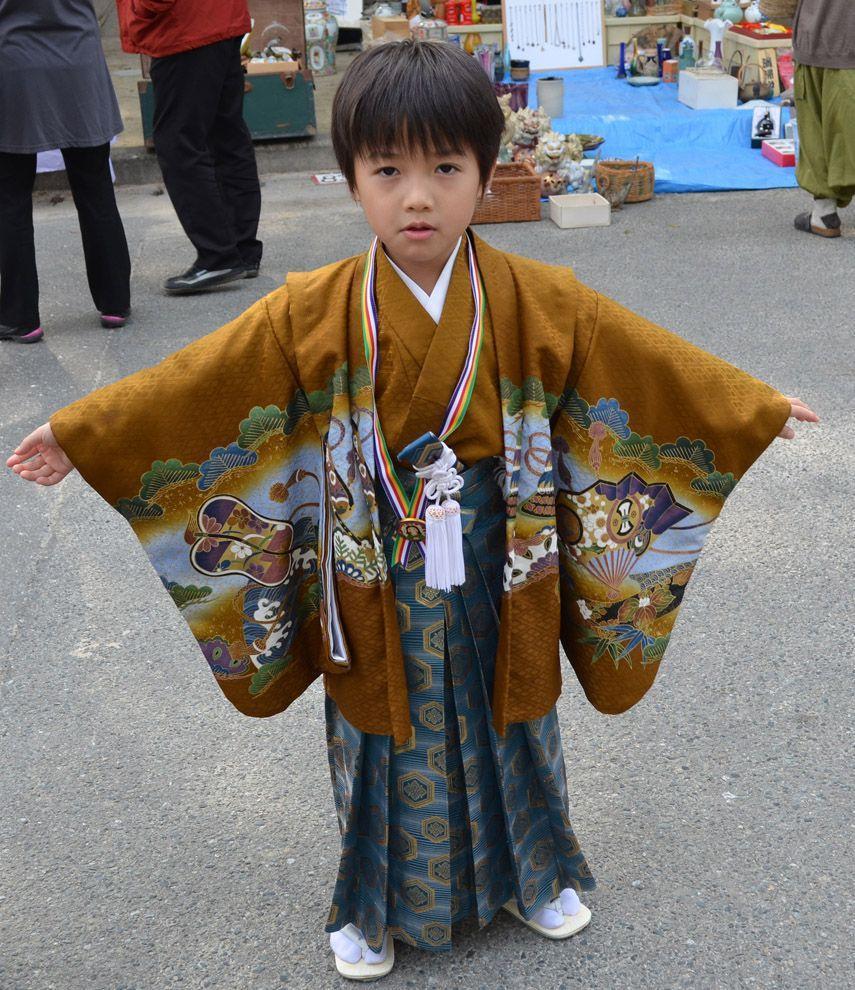Shichi Go San 06 Самые обаятельные малыши на празднике детей в Японии