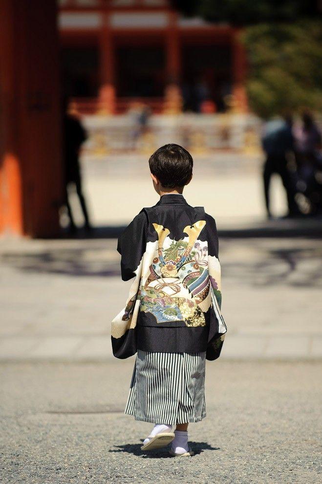 Shichi Go San 07 Самые обаятельные малыши на празднике детей в Японии