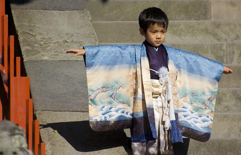 Shichi Go San 08 Самые обаятельные малыши на празднике детей в Японии