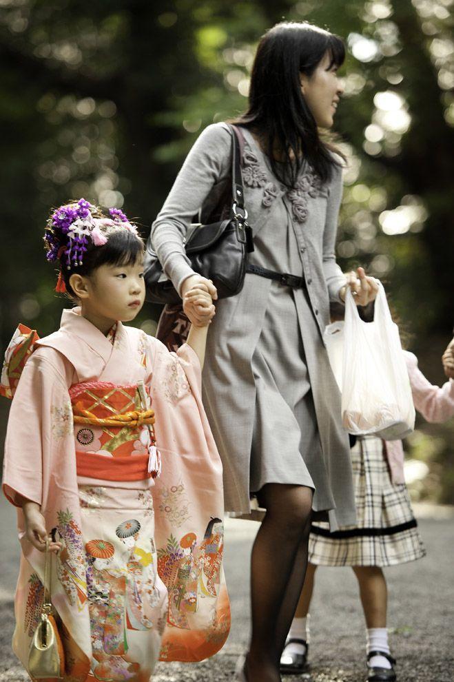 Shichi Go San 10 Самые обаятельные малыши на празднике детей в Японии