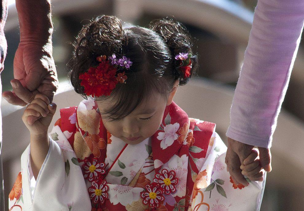 Shichi Go San 11 Самые обаятельные малыши на празднике детей в Японии