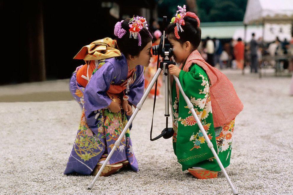 Shichi Go San 12 Самые обаятельные малыши на празднике детей в Японии