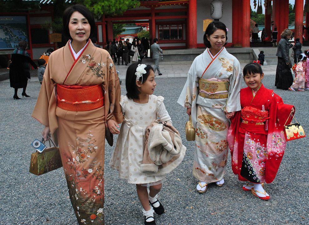 Shichi Go San 15 Самые обаятельные малыши на празднике детей в Японии