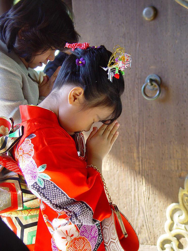 Shichi Go San 16 Самые обаятельные малыши на празднике детей в Японии