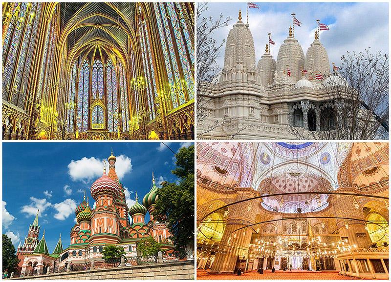 TEMP40 Восхитительные места поклонения по всему миру