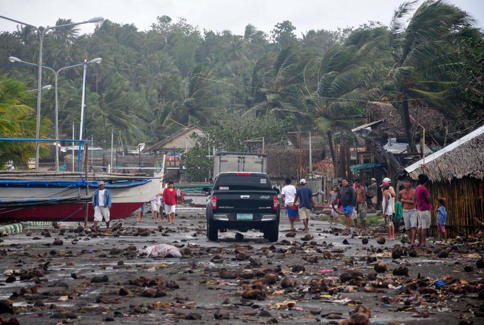 bp190000 Тайфун Хаян унес жизни более 10 тысяч человек