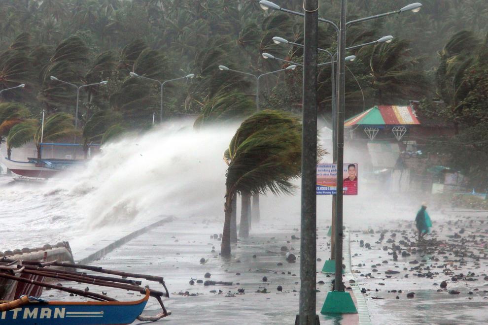 bp500000 Тайфун Хаян унес жизни более 10 тысяч человек