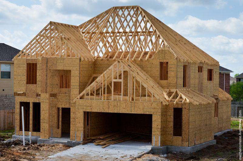 Как строят южные дома вСША?