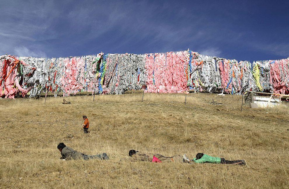 jhator02 Небесное погребение в Тибете