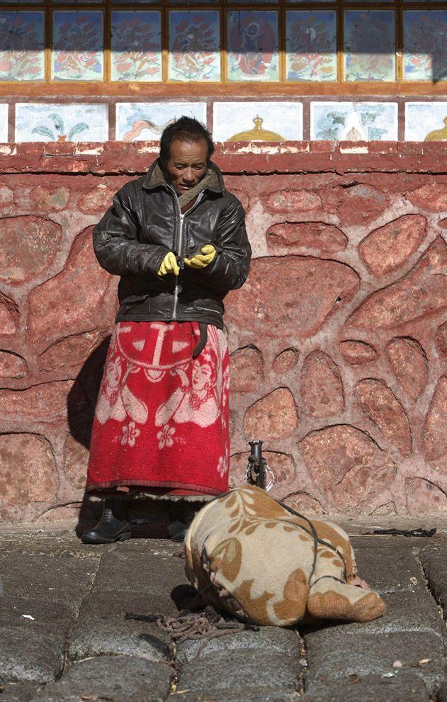 jhator04 Небесное погребение в Тибете