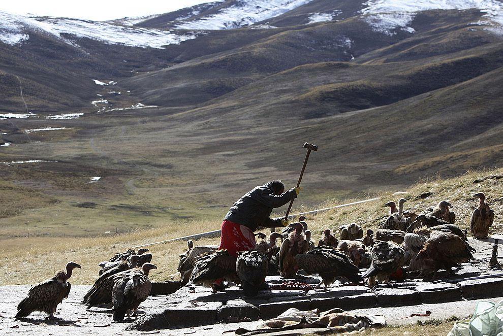 jhator08 Небесное погребение в Тибете