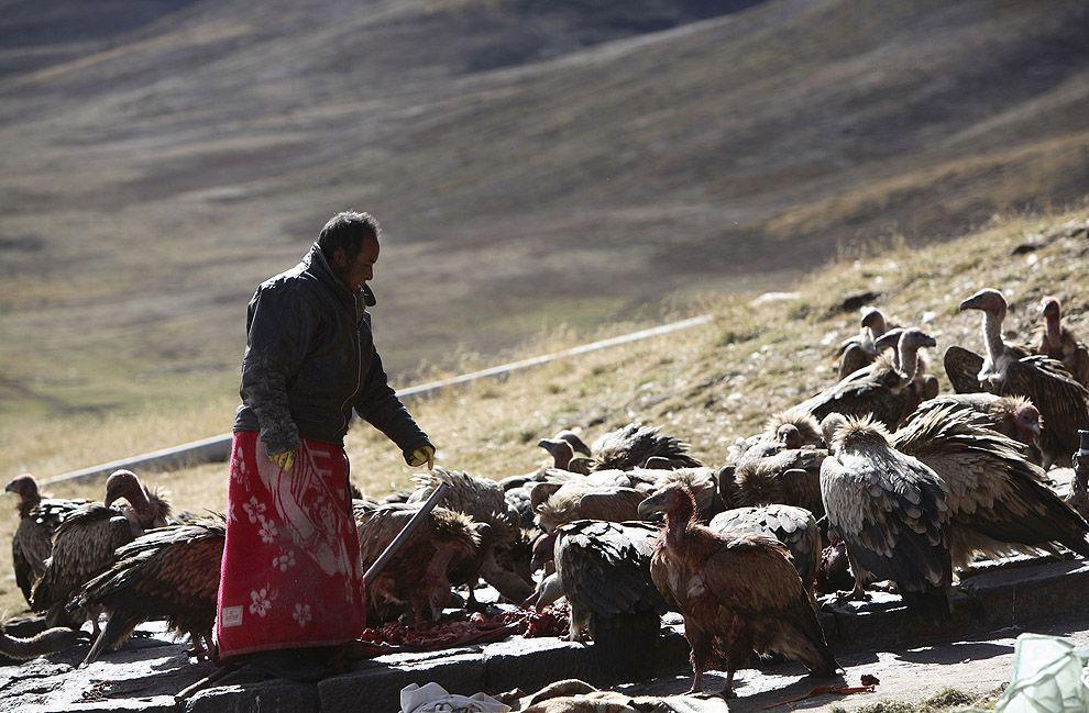 jhator09 Небесное погребение в Тибете