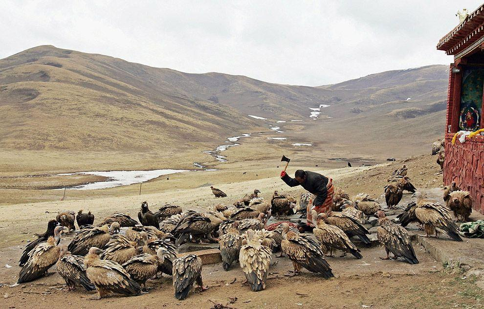 jhator11 Небесное погребение в Тибете