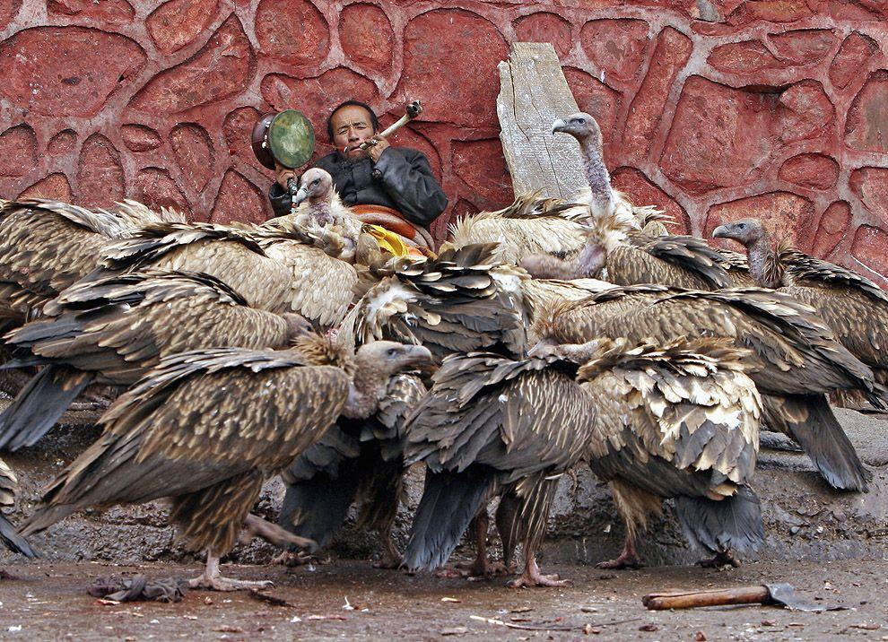 jhator12 Небесное погребение в Тибете