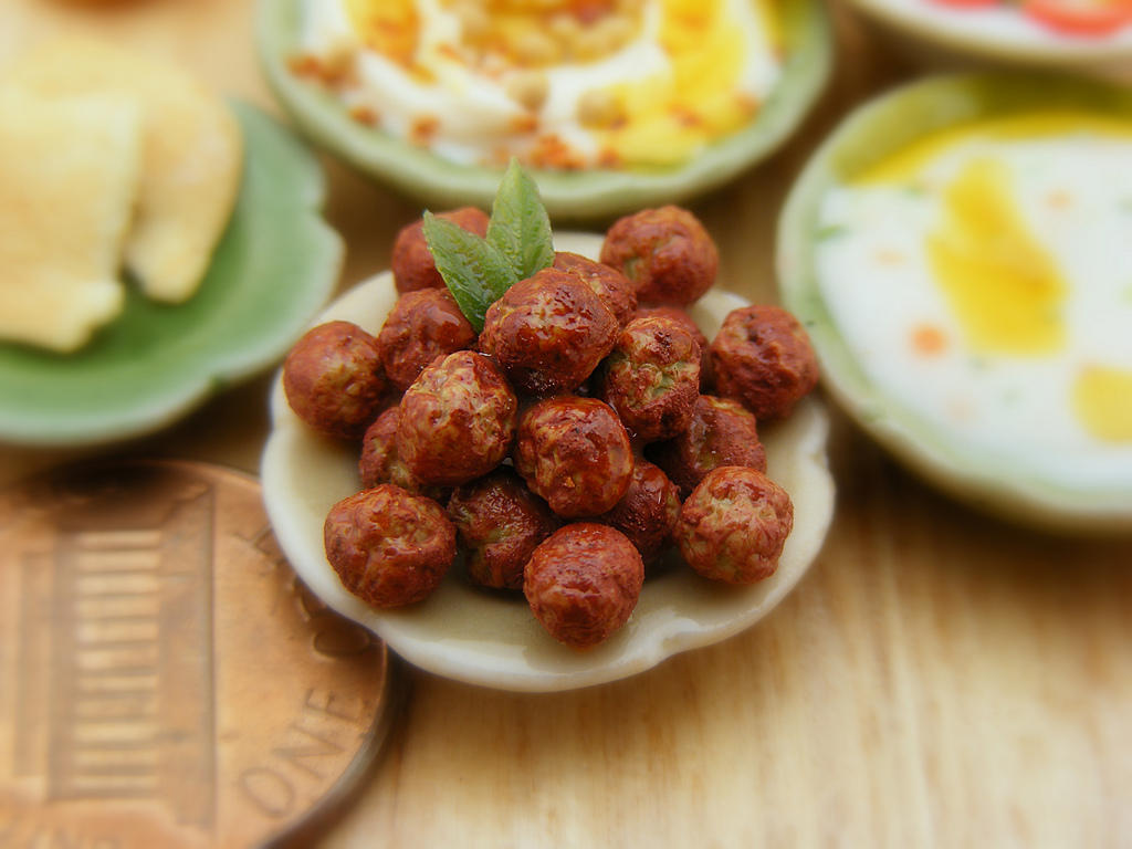 Аппетитные миниатюры от израильского