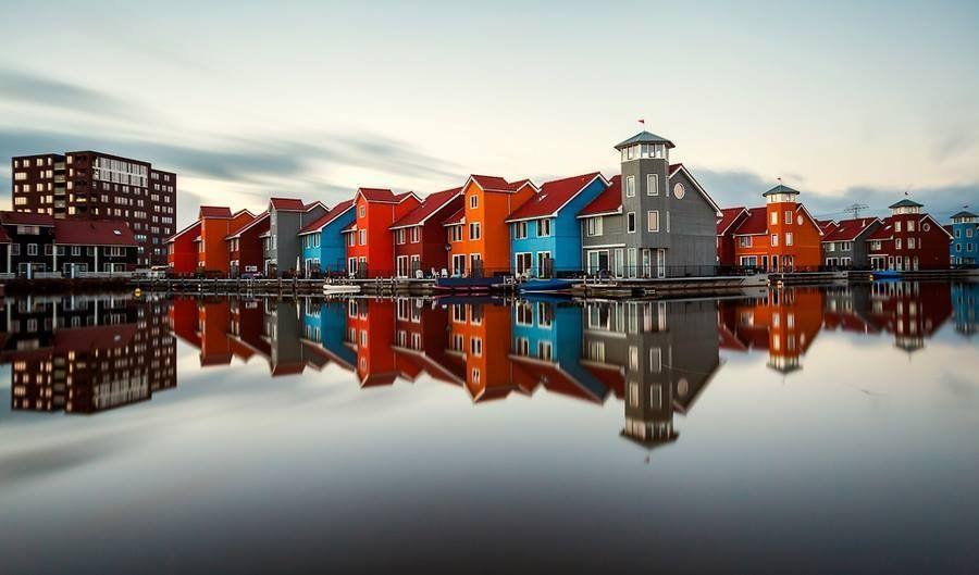 mirrored09 Урбанистическое Зазеркалье: Отражения мегаполисов