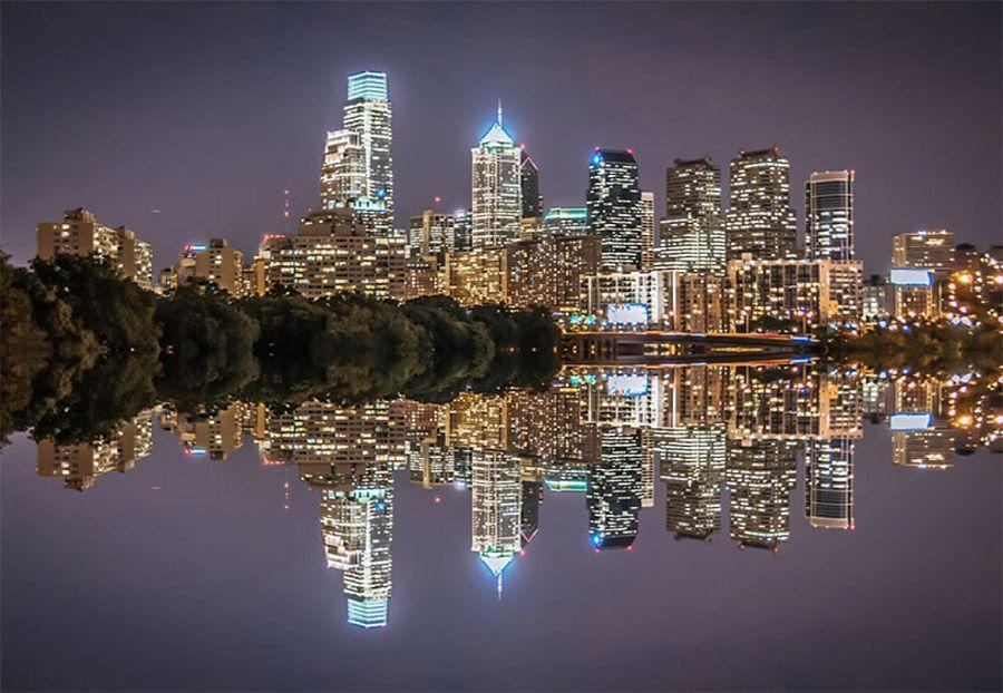 mirrored10 Урбанистическое Зазеркалье: Отражения мегаполисов