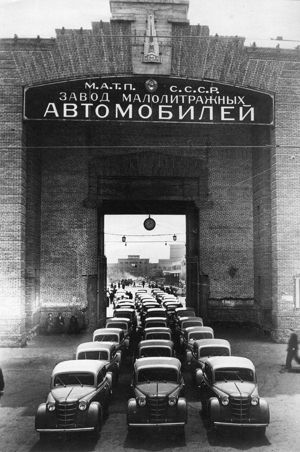 moskvitch01 Интересные факты о легендарном «Москвиче»