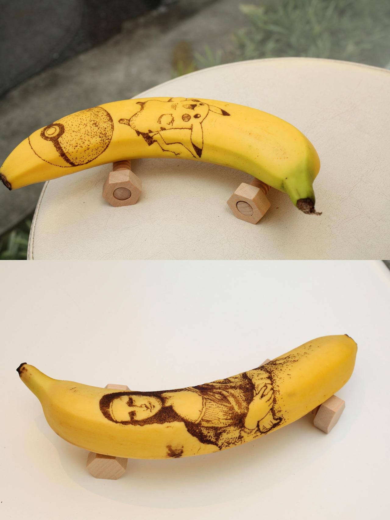 картинки забавного банана ценит свою