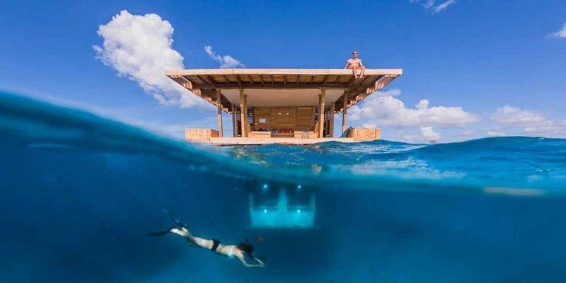 underwaterhotel00 Первый подводный гостиничный номер в Африке