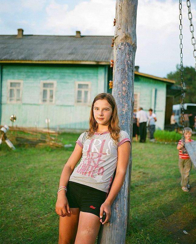 домашние фото деревенских девушек