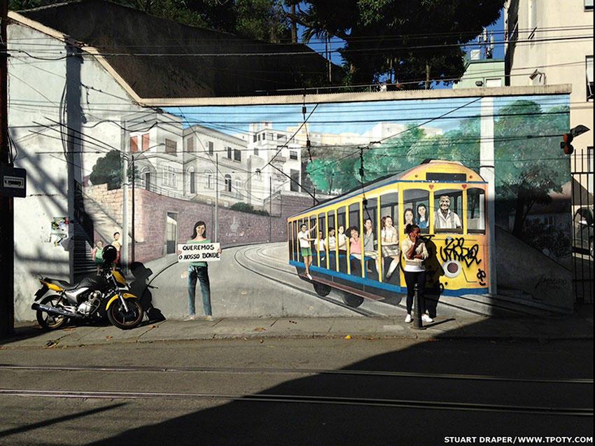 Вторую награду получил Стюарт Дрепер из Великобритании за снятый в Санта-Тереза, одном из районов Рио-де-Жанейро.
