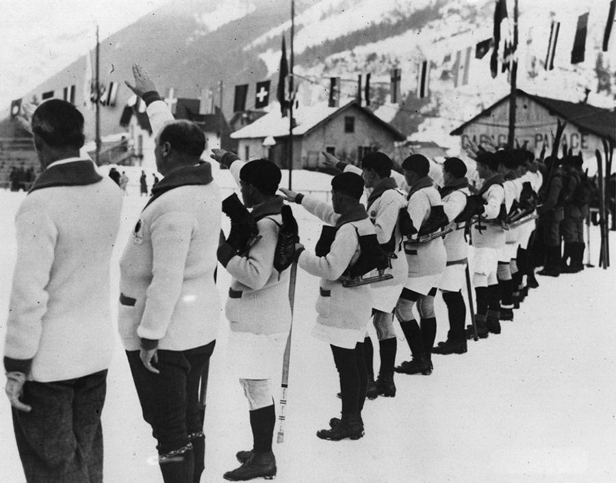 1stolympics01 Какими были первые зимние Олимпийские игры